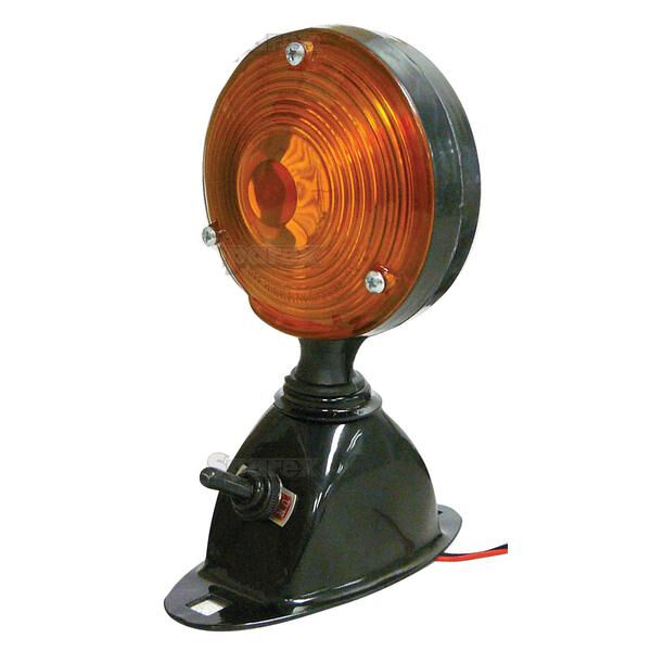 FORD NEW HOLLAND TRACTOR AMBER FLASHER REAR SAFETY LIGHT