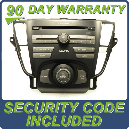 ACURA TL Radio Stereo 6 Disc Changer MP3 CD Player 1XB0