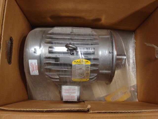 New Baldor Cm3661t 3hp 3 Phase Industrial Electric Motor
