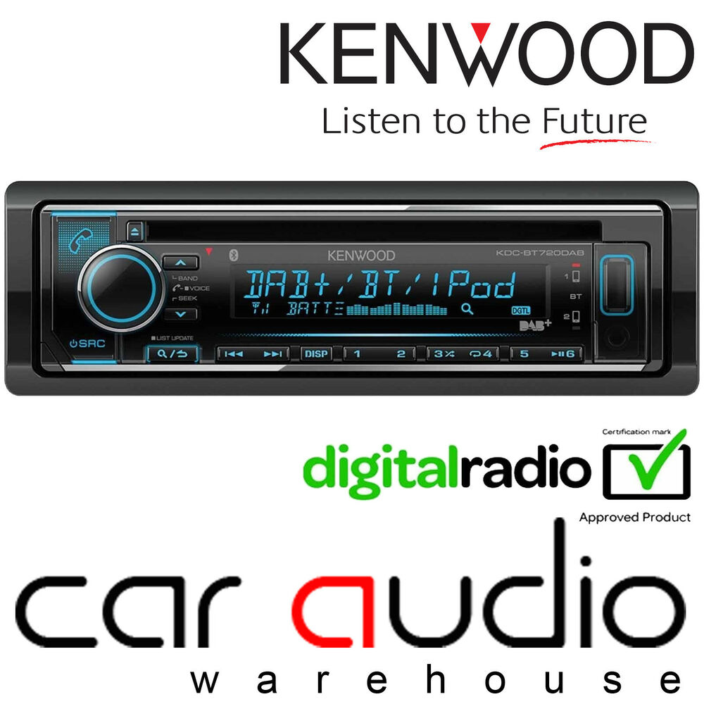 Blaupunkt Skagen 370 Dab Bt In Car Radio With Bluetooth: Clarion DAB302E Hideaway DAB Digital Radio Reciever For