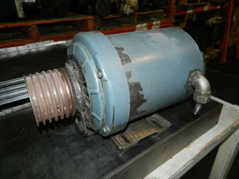 General electric ac motor 1 hp 220 440v frame 56 3450 Ac motor 1 hp
