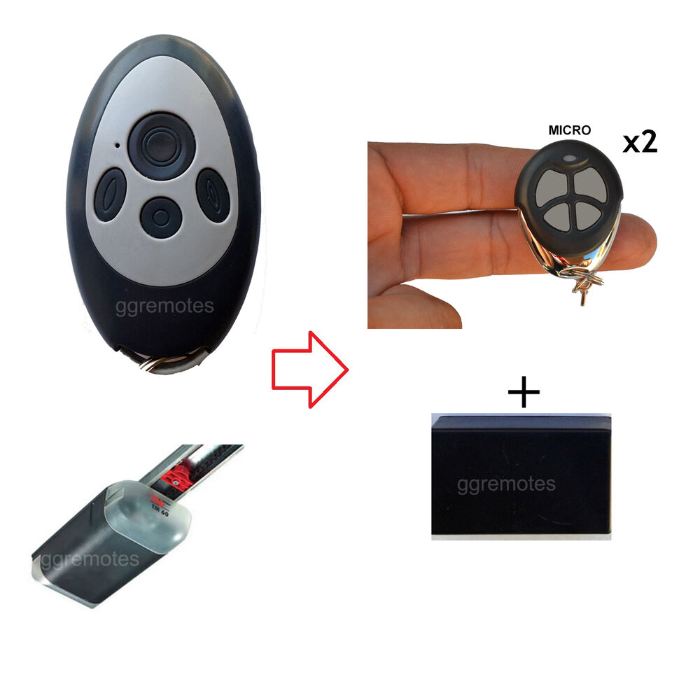 Garage Door Remote Control Opener Kit Fits Gryphon Stealth
