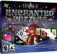 Hoyle 9 Enchanted Puzzle Challenge Games Mahjong Fishing Solitaire NEW
