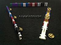 CSM/GSM + GOLDEN +DIAMOND JUBILEE & PRISON LSGC MEDAL RIBBON BAR