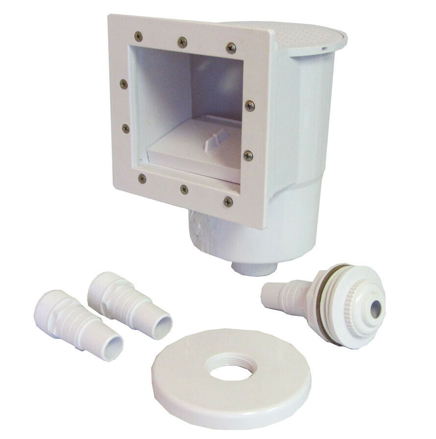 Swimming Pool Complete Thru Wall Skimmer Kit 620009810204