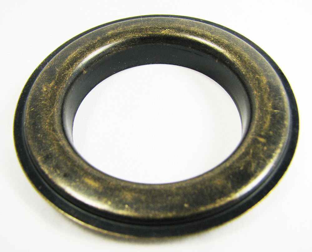 6pc Antique Brass Curtain Grommets Washers 12 Size 1 5 Hole 32 37 02 Ebay