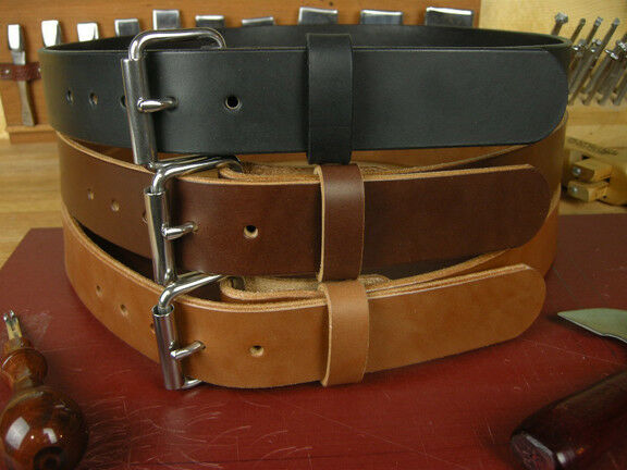 1 3 4 Quot Heavy Duty Leather Work Gun Holster Tool Belt Amish
