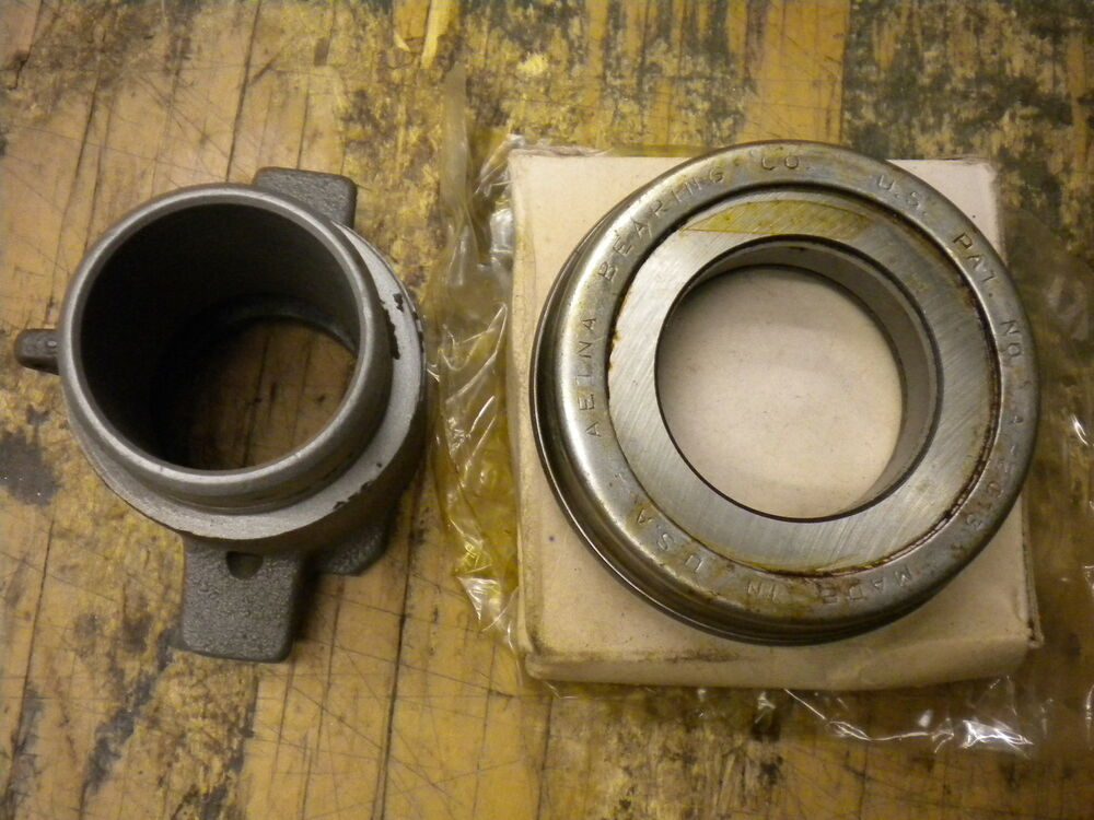 Throw Out Bearing >> Jeep Willys MB GPW CJ2A CJ3A M38 M38A1 NOS Clutch Bearing & Carrier G-503 G-740 | eBay