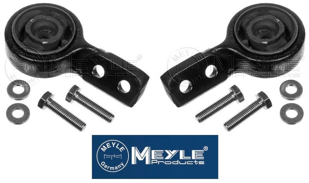 Meyle 2x Front Suspension Wishbone Bushes Bush Bmw 3 E30