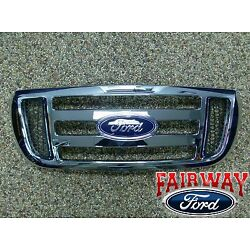 2006 thru 2011 Ranger OEM Genuine Ford Parts Front Chrome Grille Grill NEW