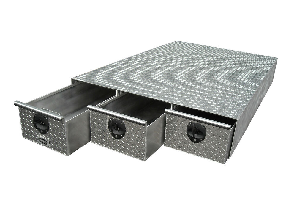 Metal Bed Storage Box