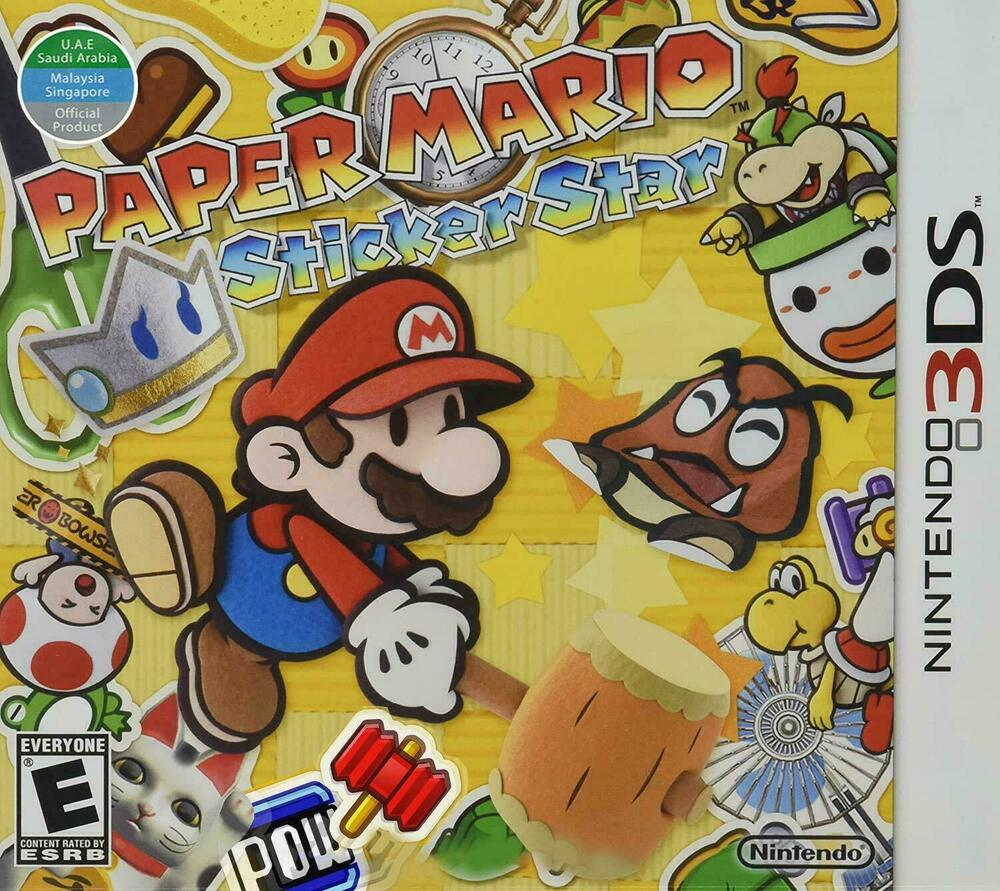 paper mario sticker star help