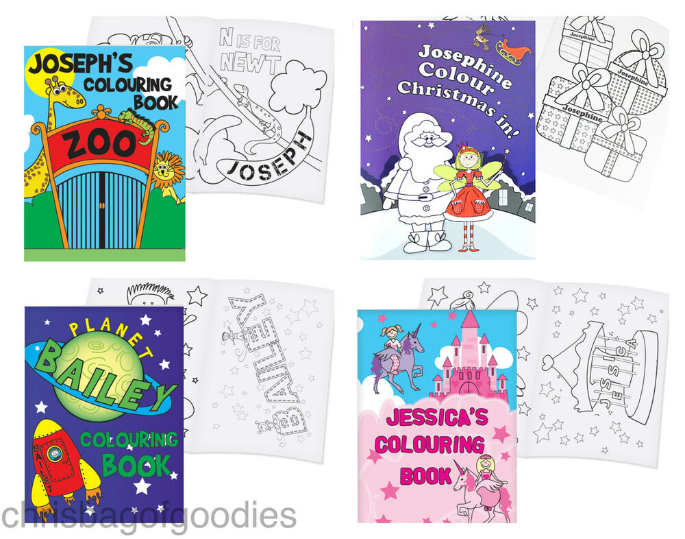 24 x Children's A5 Magic Painting Colouring In Books - Party Bag Stocking Fille