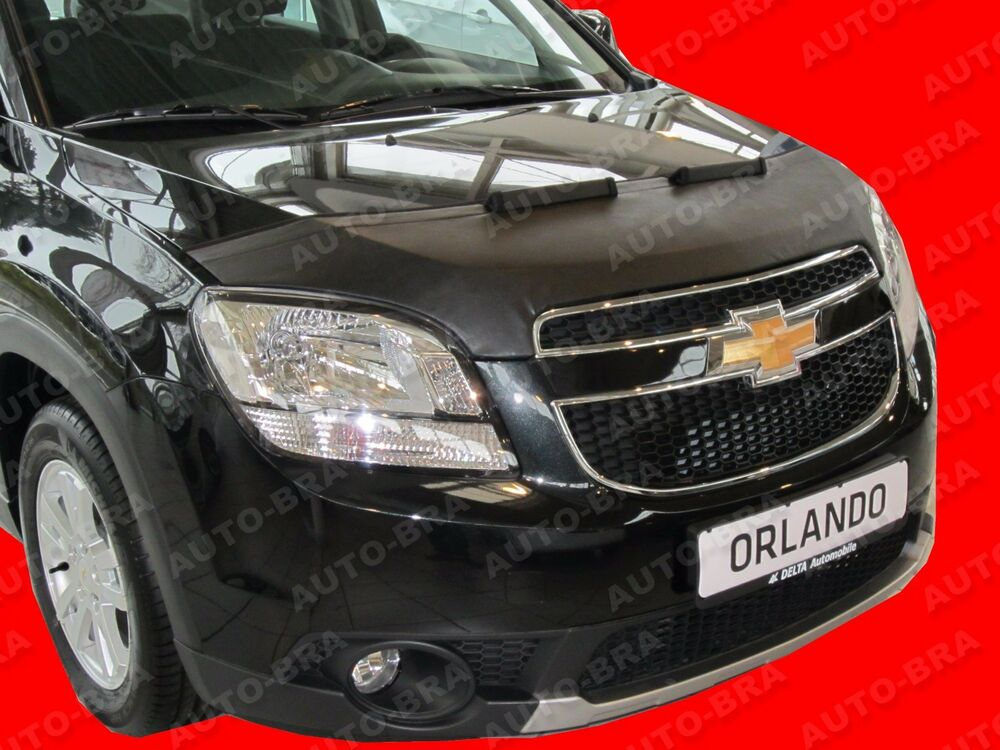 bra chevrolet orlando steinschlagschutz haubenbra tuning ebay. Black Bedroom Furniture Sets. Home Design Ideas