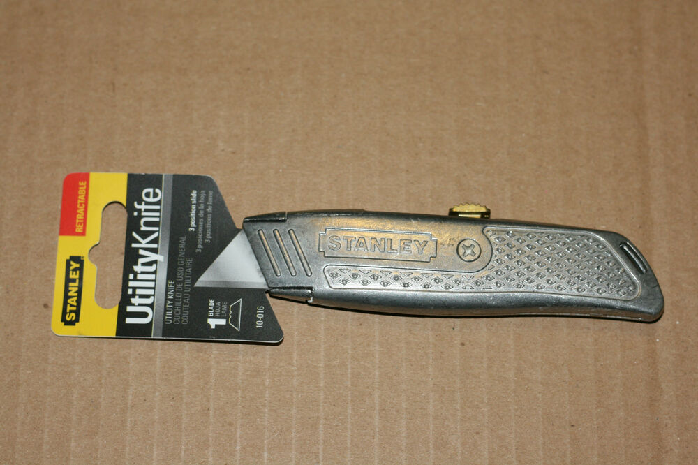 how to open stanley utility knife 10 175