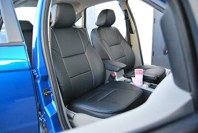 Ford Escape Seat Covers >> FORD FOCUS 2000-2008 LEATHER-LIKE CUSTOM FIT SEAT COVER | eBay