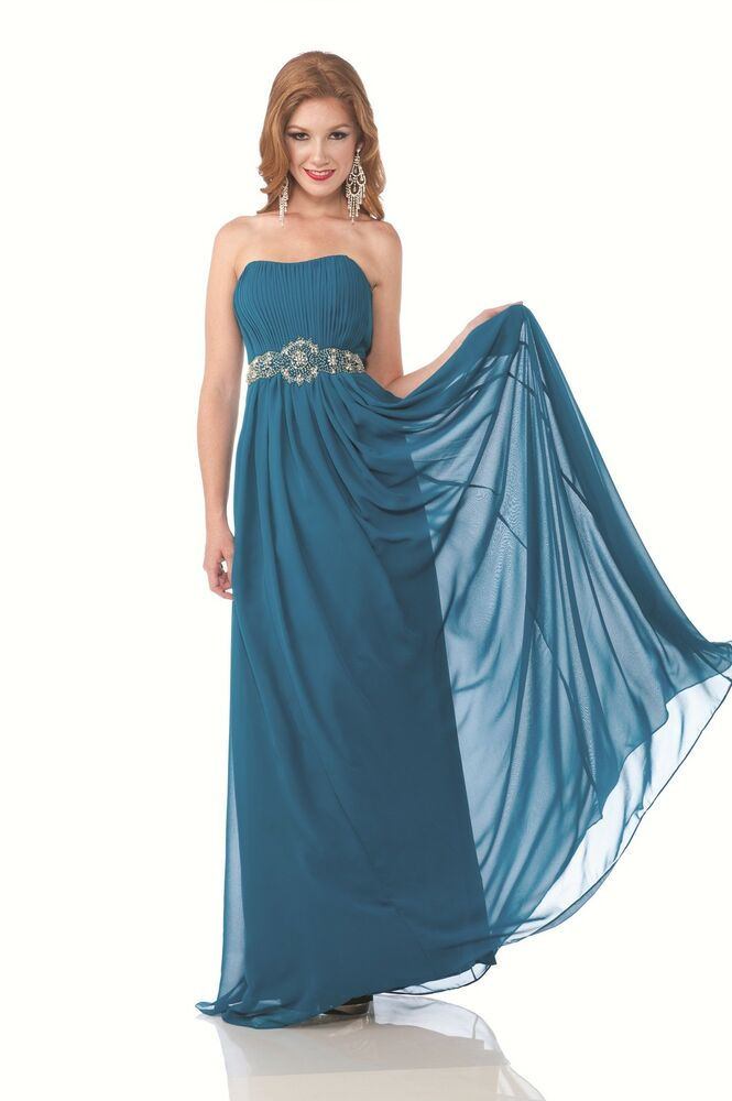 New elegant crystal prom bridesmaid homecoming reception for Ebay wedding guest dresses