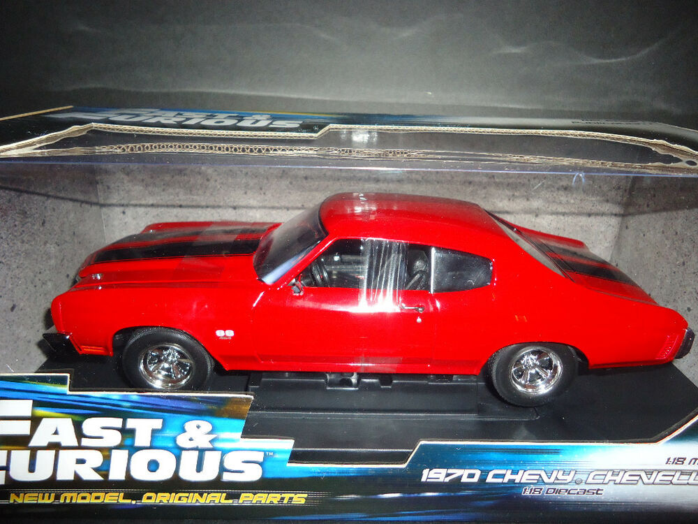 Ertl Chevrolet Chevelle SS Fast and Furious 1970 1/18 | eBay
