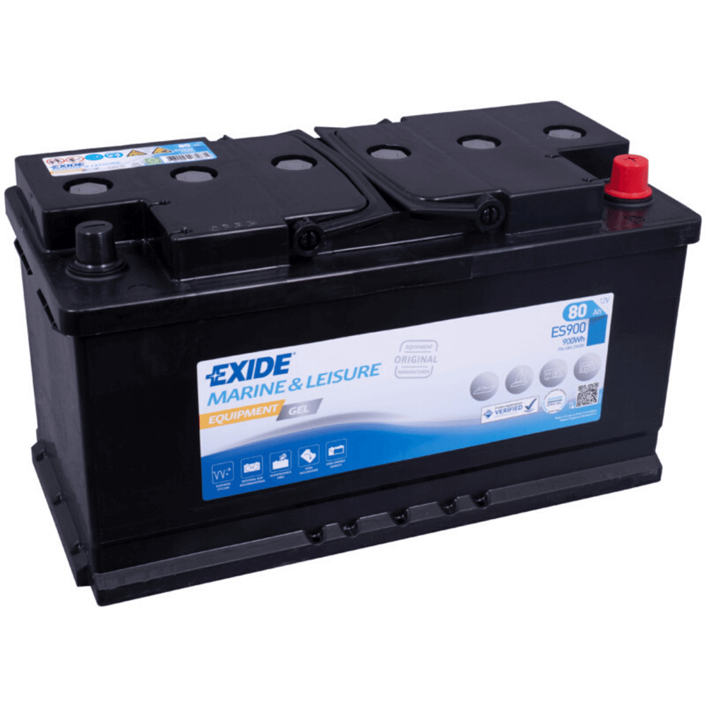 exide equipment gel es900 g80 80ah 12v gelbatterie ebay. Black Bedroom Furniture Sets. Home Design Ideas