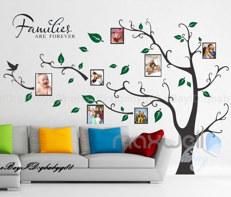 Tree Wall Decals For Family Room