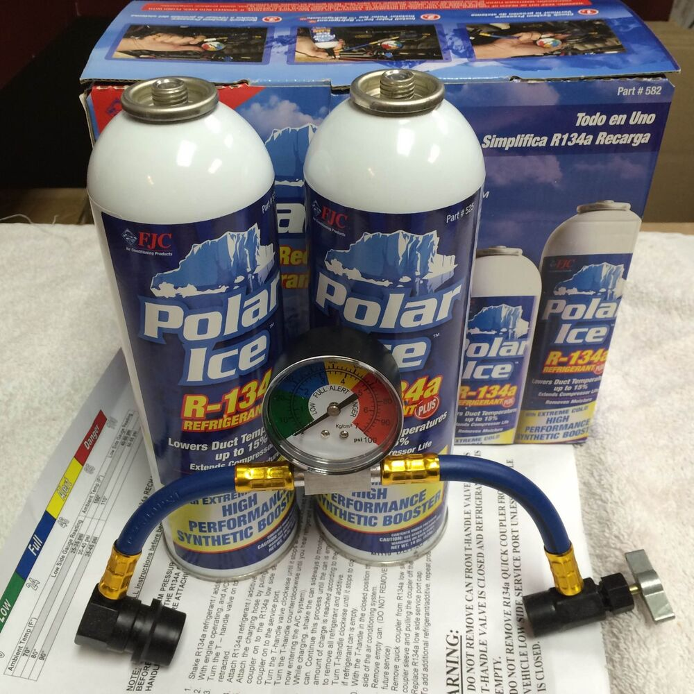 How To Recharge Ac Unit >> R134A, ReCharge Kit 36oz. Synthetic Booster Additives & U-Charge-It-Hose, FJC | eBay