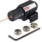 Tactical Aiming Red Beam Dot Laser Sight Scope with Mount For Gun Rifle Pistol