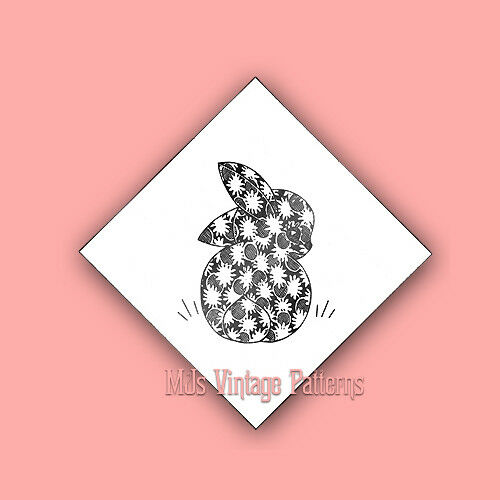Vintage Animal Applique Quilt Pattern Bunny Amp Chick Ebay