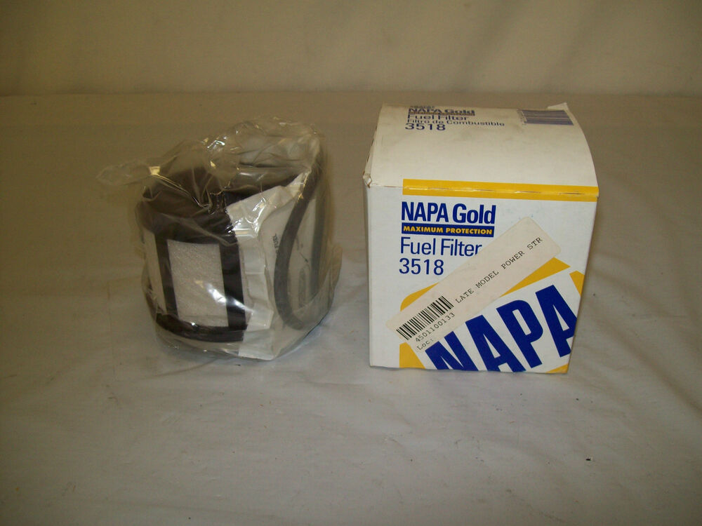 Napa Fuel Filter 3518 Ford Pow Stroke Donalson P550437 Wix