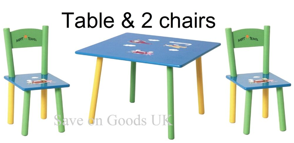 childs table chair set colourful kids small table chairs set ebay