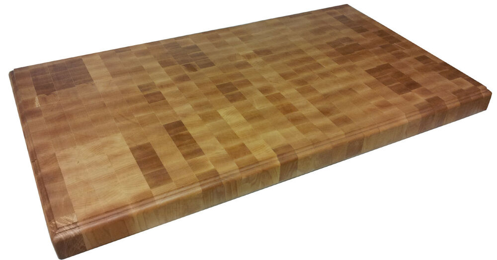 End Grain Butcher Block Kitchen Island : Armani Fine Woodworking End Grain Hard Maple Butcher Block Countertop eBay