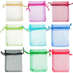 Organza Gift Candy Bags Jewelery Packing Pouch Wedding Favor 3''x4'' Baggies