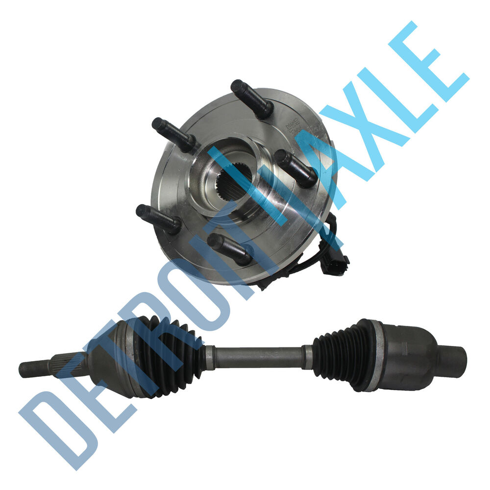 Truck Front Axle Assembly : New front wheel hub assembly right axle shaft