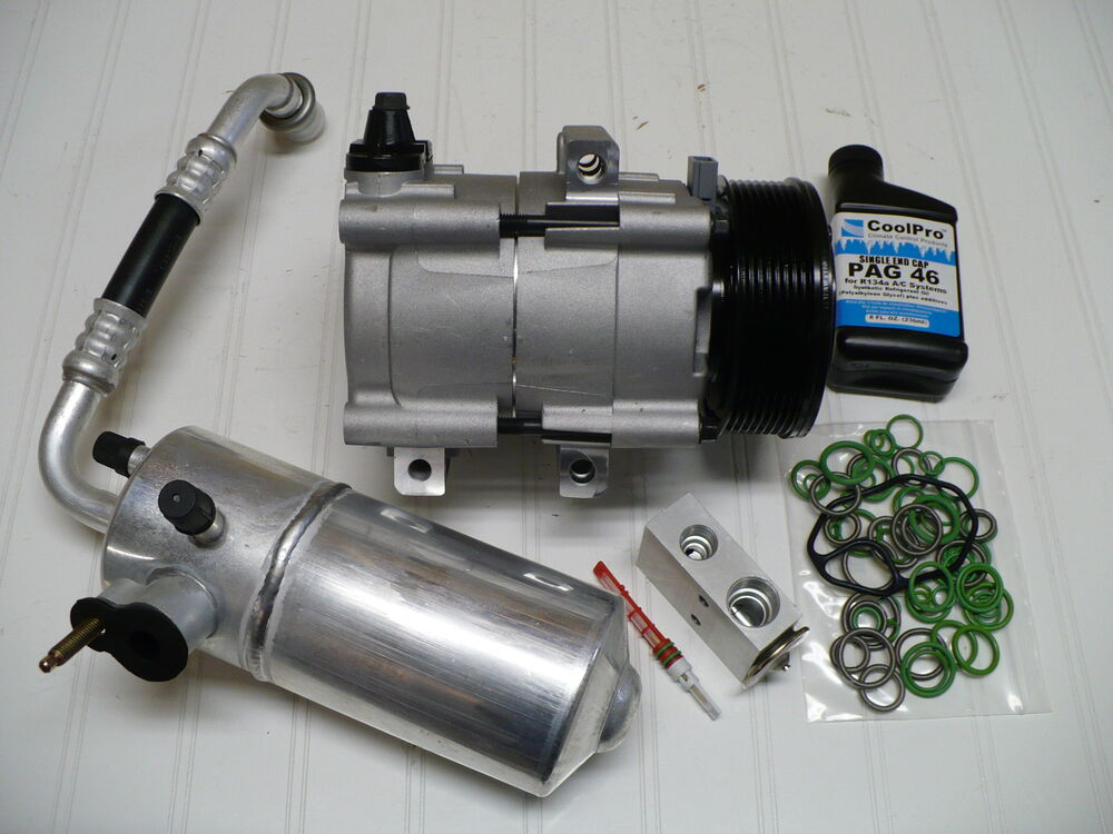 New A  C Compressor Kit Fits Ford Expedition 1998 1999 2000