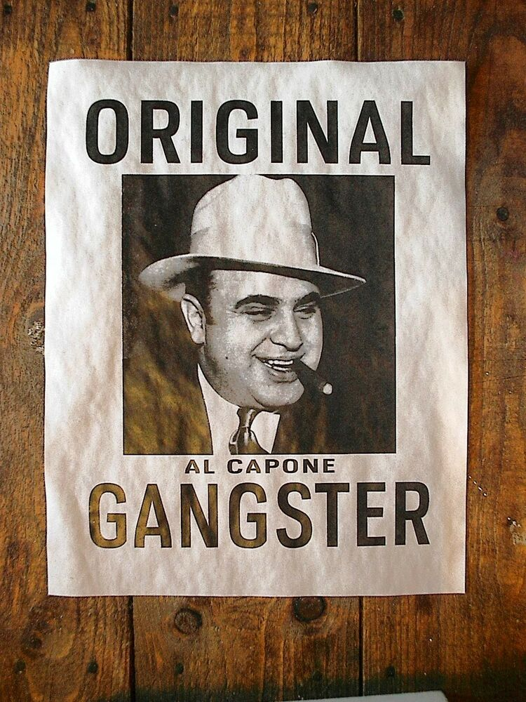 a biography of al capone a gangster Frank nitti: frank nitti, american gangster in chicago who was al capone's chief enforcer and inherited capone's criminal empire when capone went to prison in 1931.