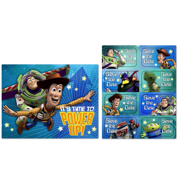 Toy Story Birthday Games : Toy story game time party supplies invitations ebay