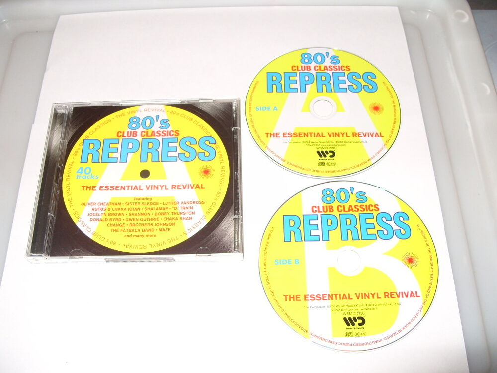 Eighties repress 80s 80s club classics 2003 2 cd old for Old skool house classics list