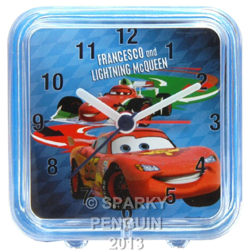 lightning mcqueen alarm clock instructions