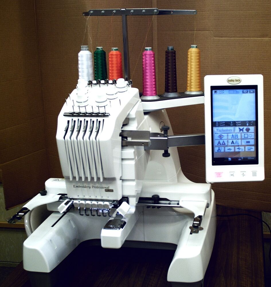 Babylock bmp brother pr needle embroidery machine