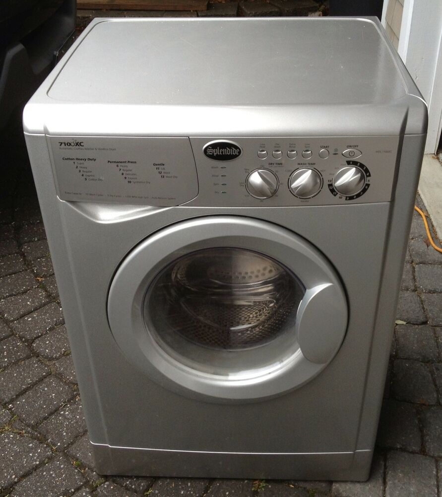 Apartment Washer And Dryer: SPLENDIDE 7100XC VENTLESS WASHER/DRYER COMBO. APARTMENT/RV