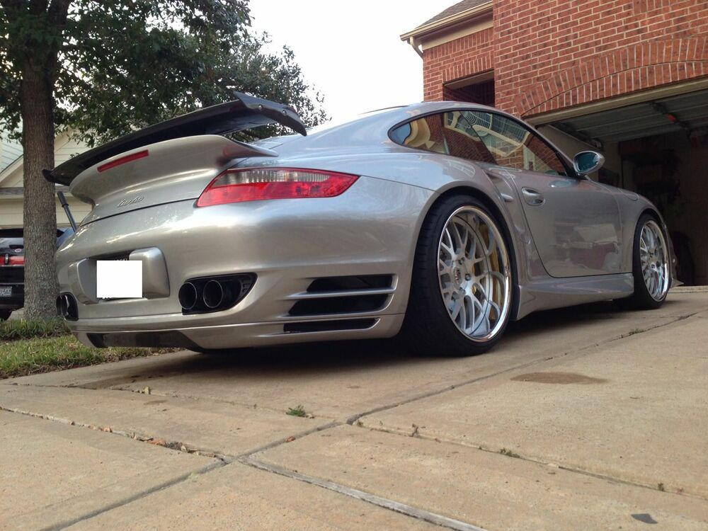 porsche 997 turbo gt1 add on wing spoiler tail kit coupe. Black Bedroom Furniture Sets. Home Design Ideas