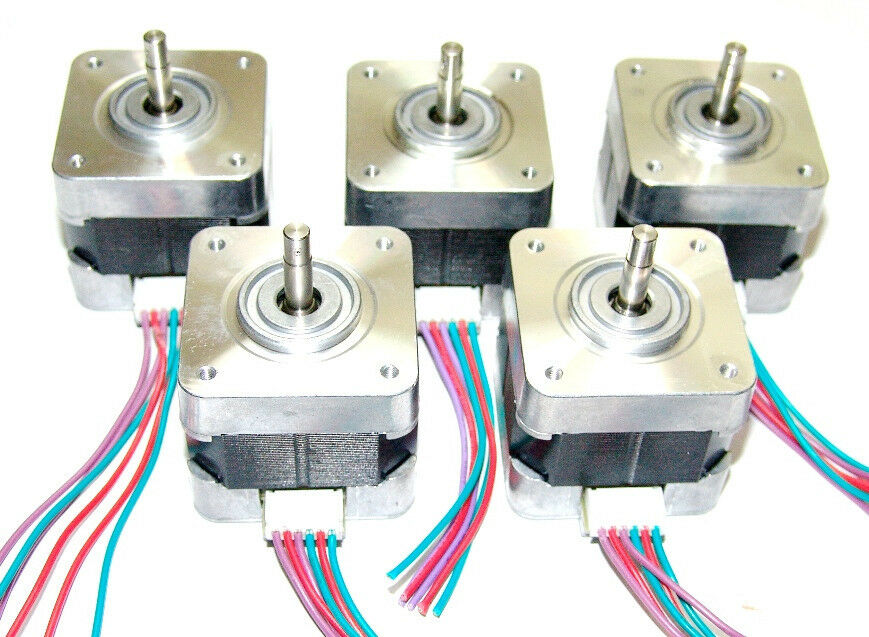 5 Nema 17 Minebea Stepper Motors Mill Robot Reprap