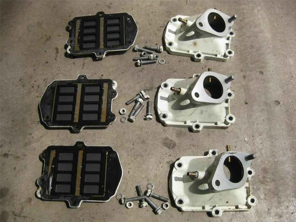 Suzuki outboard 85 hp intake inlet case with valves 13110 for 85 hp suzuki outboard motor for sale