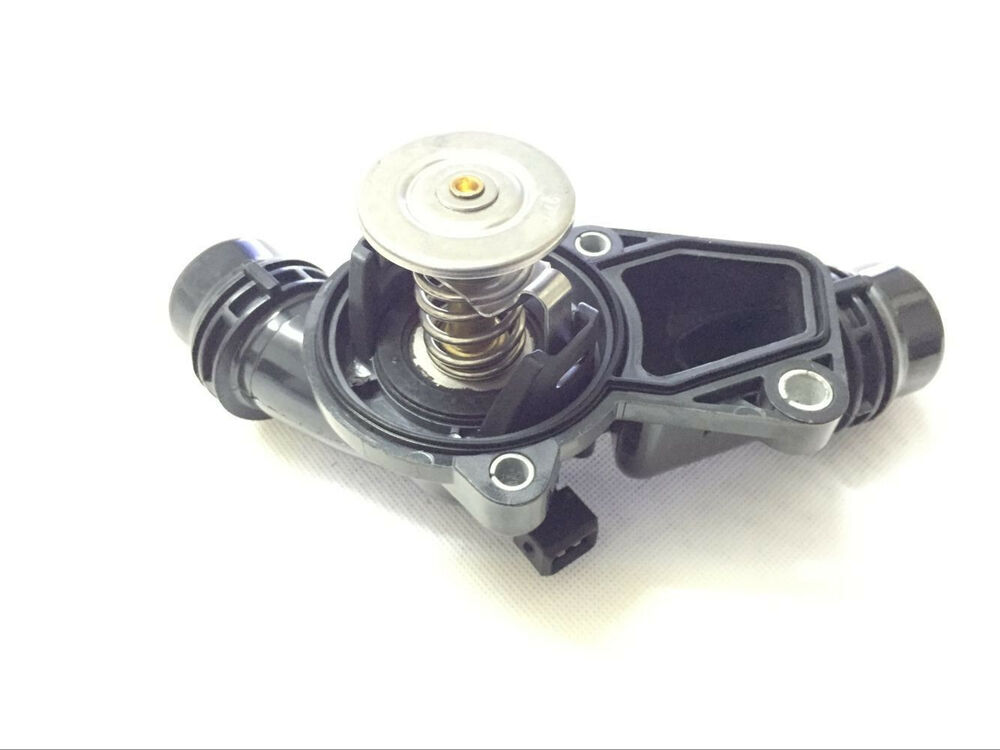 Engine Coolant Thermostat With Housing Amp Sensor For Bmw