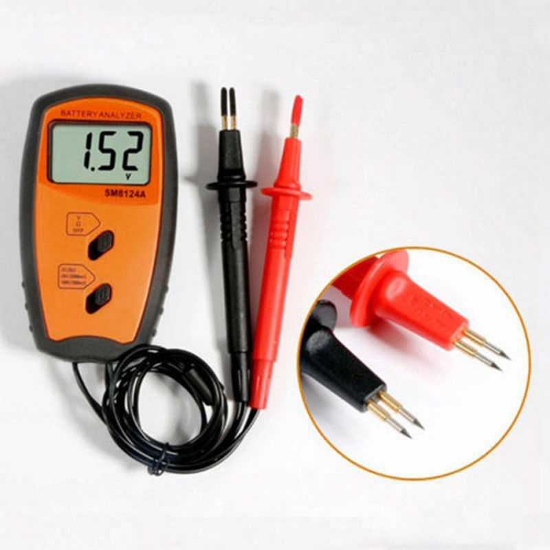Battery Impedance Tester : Internal battery resistance impedance meter tester