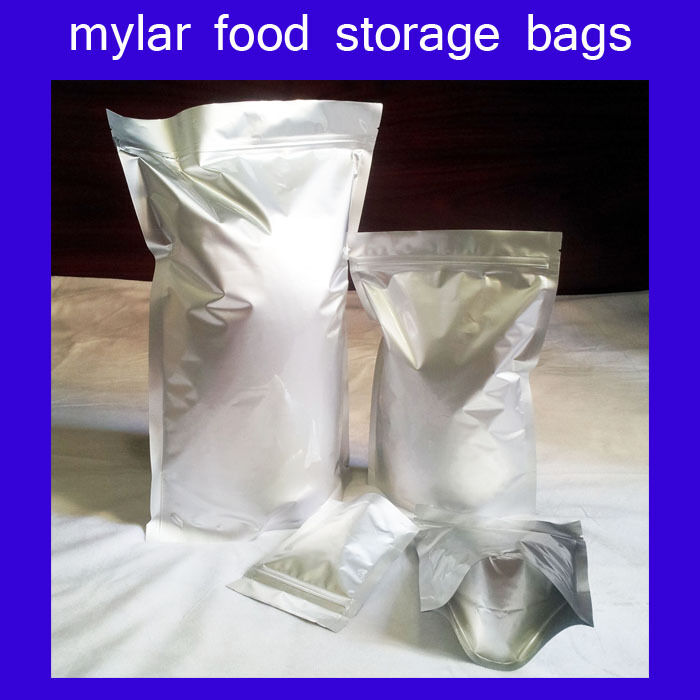 Quality Mylar Stand Up Food Storage Bag Pouch Long Term