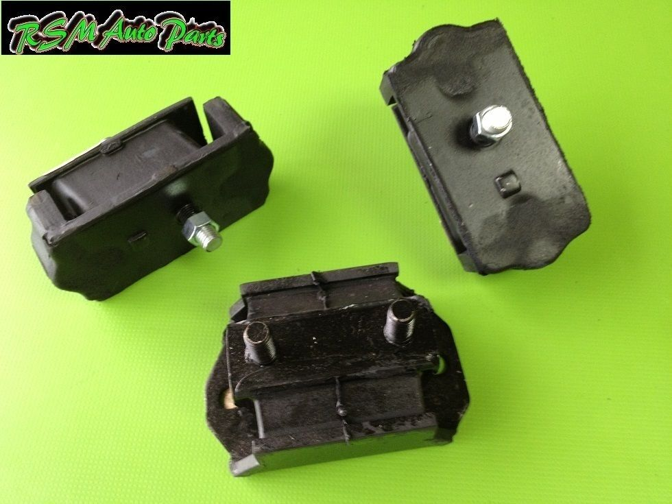 mazda b2000 b2200 86 93 motor mount set transmision mount ebay. Black Bedroom Furniture Sets. Home Design Ideas