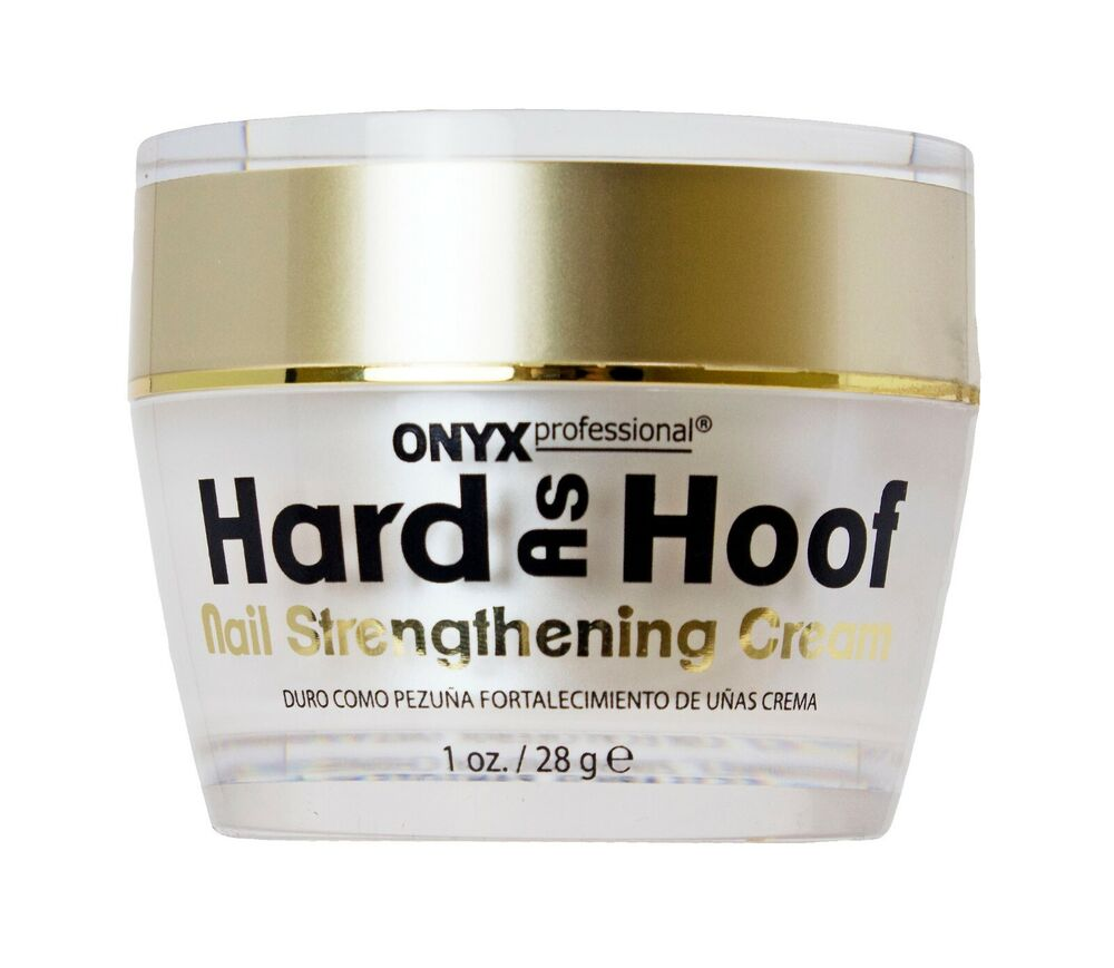 Professional Nail Hardener: Onyx Professional Hard As Hoof Nail Strengthening Cream