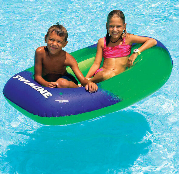 60 Quot Supergraphic Inflatable Boat Lake Beach Raft 4 Yrs
