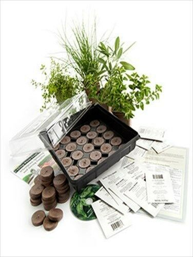 indoor herb garden kit indoor cooking culinary herb garden growing kit 10373