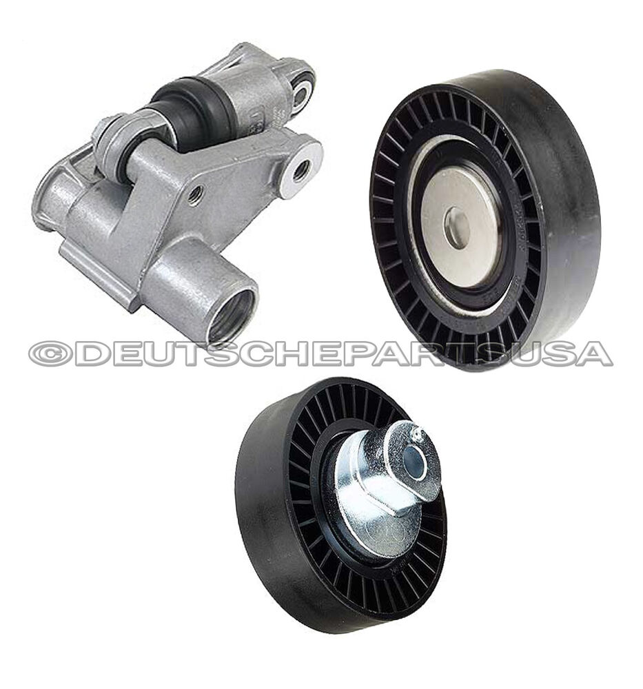 Hydraulic Drive Belt Tensioner Shock Pulleys For Bmw E36
